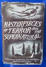 1985 MASTERPIECES OF TERROR/SUPERNATUAL by Marvin Kaye 1st Doubleday HC VG-