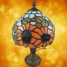 Tiffanylampe komplett Tisch Lampe Weihnachtgeschenk H.34-D.20cm Tischleuchten