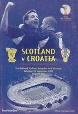 Away Teams C-E Croatia World Cup Football World Cup Fixture Programmes