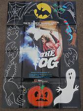 the fog original purchase video shop film poster - john carpenter