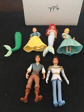 Polly Pocket Disney Princess And Prince Lot Of 5
