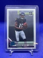 2019 PANINI DONRUSS OPTIC MARQUISE BROWN #162 ROOKIE CARD RC BALTIMORE RAVENS