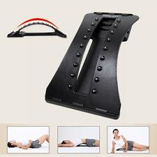 Magnetic Back Massage Stretcher Lumbar Support Spine Pain Relief Chiropractic