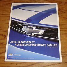 2015 2016 Chevrolet Accessories Reference Catalog 15 16 Chevy Corvette Camaro