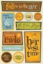 Karen Foster Design Cardstock Scrapbook Stickers - Autumn