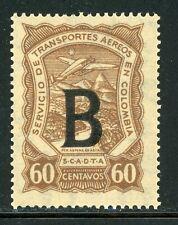 Colombia MNH Specialized SCADTA Consular: Scott #CLB7 60c BELGIUM $$$