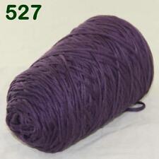 C Hot Sale 400gr Cotton Soft Cone Chunky Bulky Wrap Shawl Hand Knitting Yarn 27