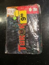 Turok 2: Seeds of Evil Nintendo 64, N64 New Factory Sealed Dented Damaged Box