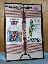 The First Time/Oriental Babysitter (DVD, 1976/1978) VINEGAR SYNDROME NEW retro
