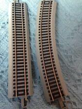 "Nos Thomas Kinkade Christmas Express Train One ""9"" Straight""/One 9"" Curved Trac"