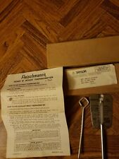 Vintage Fleischmann's Yeast N Roast Thermometer In Original Box And Instructions