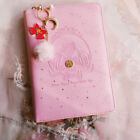 Sailor Moon Princess Serenity Case Notebook Diary Planner Schedule Book Girls