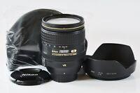 [Top Mint] Nikon AF-S NIKKOR 24-120mm F4G ED VR Zoom Lens from Japan N366