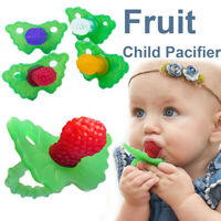 Newborn Baby BlueBerry Infant Nipple Teether Soother Pacifier