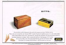 SPEER BULLETS .224 CALIBER PACKS 50 GRAMS EXPLOSIVE POWER AMMO GUNS  1991 AD