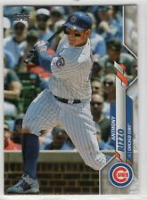 2020 Topps Chicago Cubs Team Set Series 1 and 2