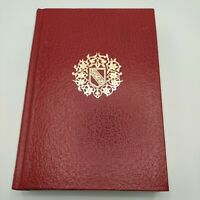 Tales of the Alhambra by Washington Irving Red Leatherette Rare Book Import