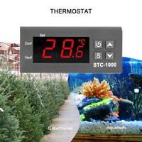 STC-1000 Digital AC 110-220V Temperaturregler Thermostat Aquarium