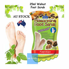 Walnut Foot Care Feet Scrubber Cream Peeling Pumice Dead Hard Skin Callus Mask