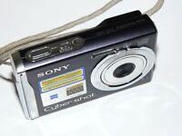 Sony Cyber-shot DSC-W90 8.1 MP - Digital Camara - Negro