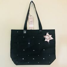 Bath & Body Works Black Bow With Jewels Tote Bag Purse VIP black Friday 2013 New