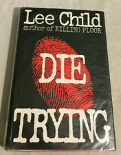 Die Trying No. 2 by Lee Child (1998, Hardcover, Good)