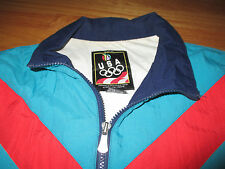 OLYMPICS Rings WINTER SUMMER GAMES Zippered (MED) Jacket