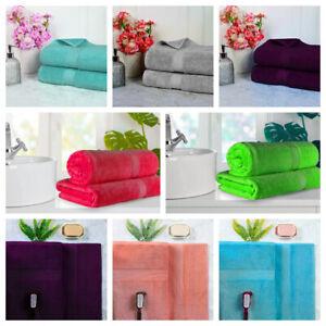 2X Extra Large Jumbo Bath Sheets 100%Egyptian Cotton Luxury Soft Towels 600GSM.