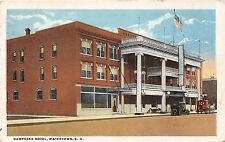 South Dakota postcard Watertown, Kampeska Hotel ca 1926