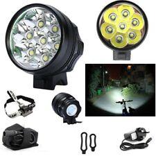 7 X Cree XML T6 DEL 10000 Lm Vélo Rechargeable Lumière 10k projecteur torche