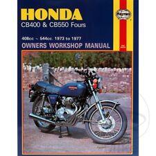 Honda CB 550 K Four 1977-1978 Haynes Service Repair Manual 0262