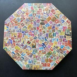 Vintage 1973 Springbok Octagon Puzzle Postage Paid Over 500 Pieces Collectors