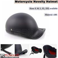 Novelty Motorcycle German Style Half Face Helmet Dirt Bike Chopper Cruiser Biker