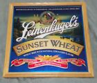 LEINENKUGELS Sunset Wheat Mirror Beer Man Cave MIRROR Bar Pub Wisconsin Falls