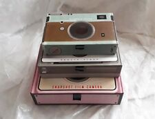 Camera nesting storage boxes, attractive vintage style, set of 3, 23cm-NEW