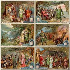 Chromo Liebig Sang. 407 TED Legenda di Frithjof ANNO 1894