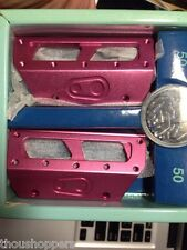 New Crank Brothers 5050 Pedal Cleats Plate Kit Pink Color