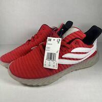 Adidas Men's Originals Sobakov BD7572 Red BRAND NEW Size 8.5