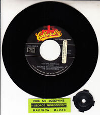 "GEORGE THOROGOOD  Ride On Josephine & Madison Blues 7"" 45 rpm vinyl record RARE!"