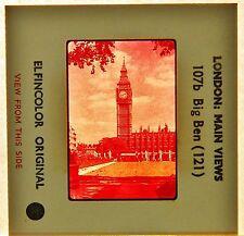 VTG 35mm Color Slide England Vacation Souvenir Big Ben