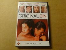 DVD / ORIGINAL SIN ( ANGELINA JOLIE, ANTONIO BANDERAS... )