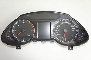 Audi Q5 8R Kombiinstrument 8R0920930C Diesel Speed Controll FIS 8R0920930D
