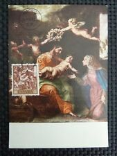 SPAIN MK 1969 HOLY FAMILY HL. FAMILIE MAXIMUMKARTE MAXIMUM CARD MC CM c1659
