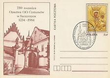 Poland postmark - religion church CIECHOCINEK
