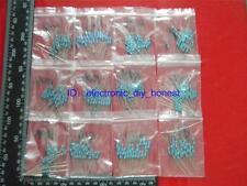500pcs 50 value 1ohm~1M 1/2W (0.5Watt) Metal Film Resistor Assortment Kit #3044