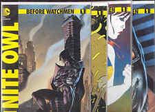 Before Watchmen #1 DC Comic Books X4 Nite Owl MinutemenSilk Spectre The Comedian