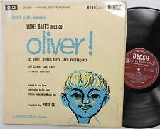 LIONEL BART OLIVER musical LP DECCA LK 4359 England press