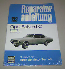 Reparaturanleitung Opel Rekord C - Sprint, Commodore A, Commodre A/GS!