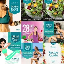 Kayla Itsines Bbg, Nutrition, and other Guides (13 Kayla Itsines guides total)