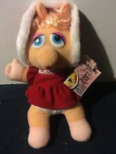 McDonalds Presents Jim Hensons Muppets Baby Miss Piggy Plush - Vintage 1987